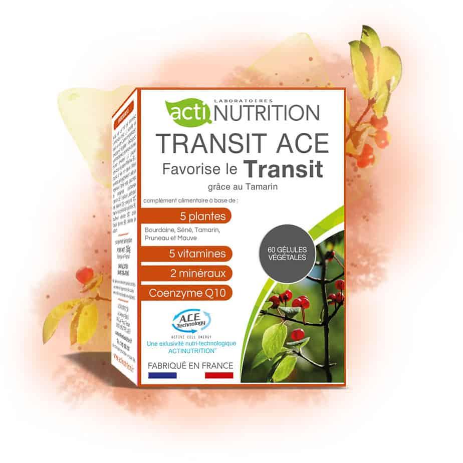 Transit ACE pour faciliter le transit intestinal