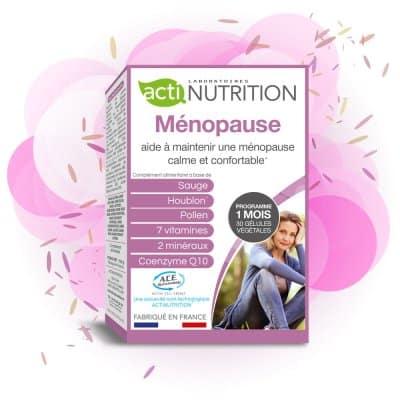 Ménopause pour une ménopause sereine et confortable