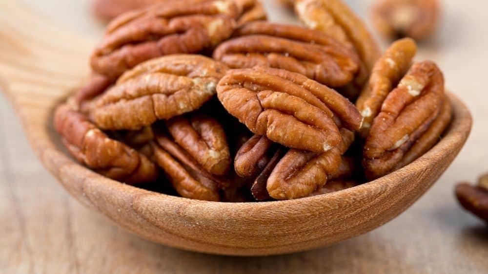 La noix de pécan, un fruit oléagineux bon pour la santé.
