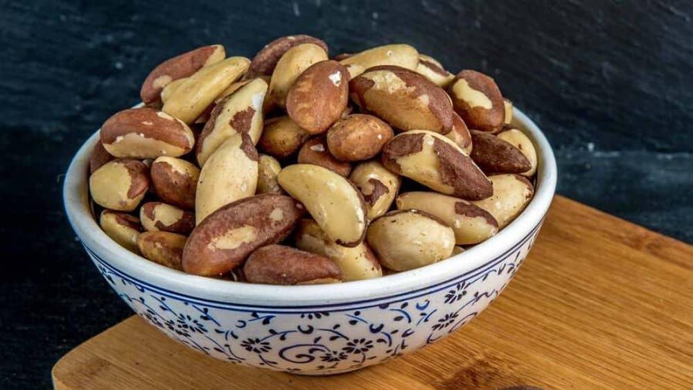 La noix du Brésil, un fruit oléagineux bon pour la santé.