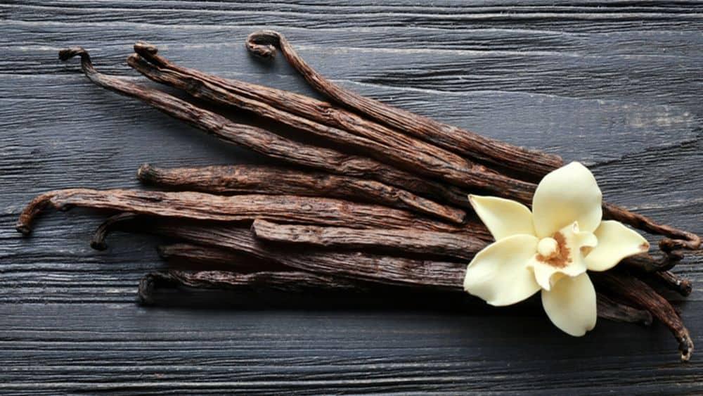Vanille, épice bonne pour la santé.