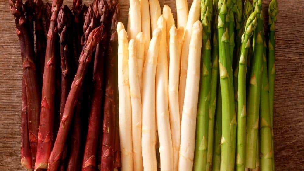 L'infographie sur les légumes de printemps