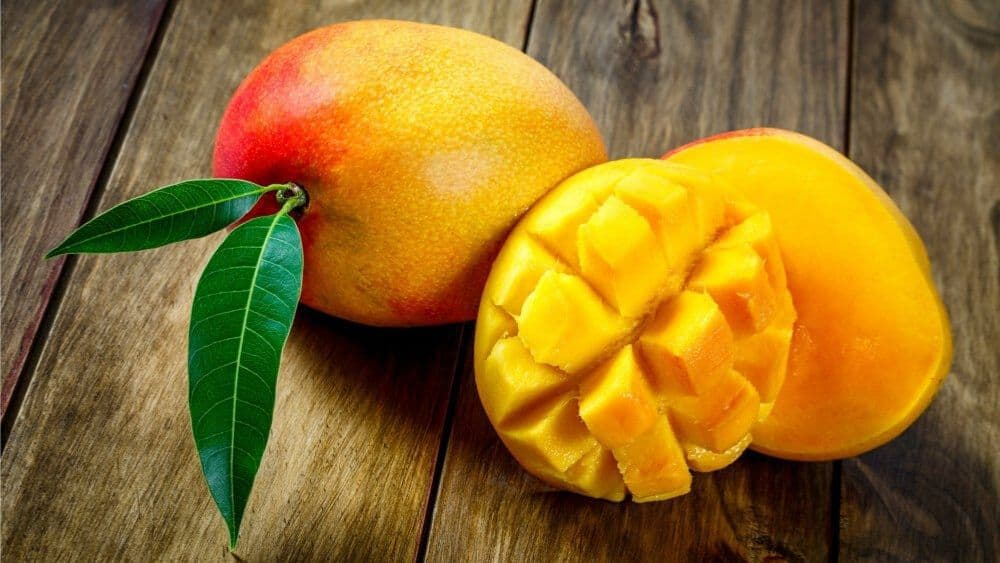 Mangue liste fruits tropicaux