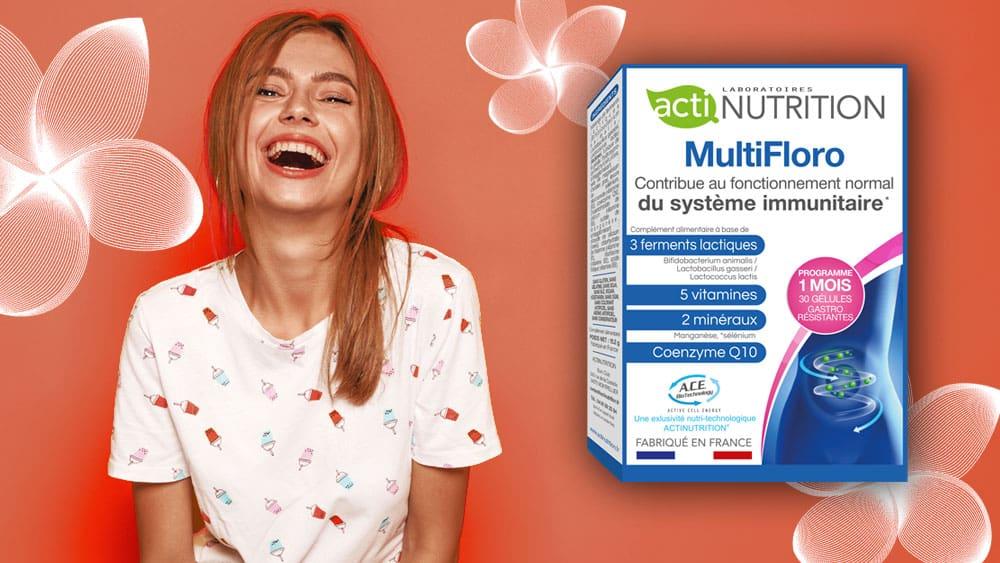 MultiFloro Probiotiques Actinutrition