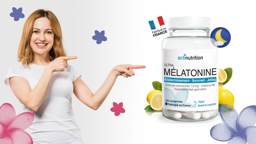 Ultra Mélatonine Actinutrition