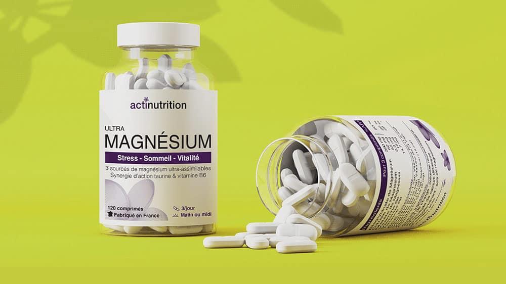 Ultra Magnésium d'Actinutrition est disponible dans notre shop.