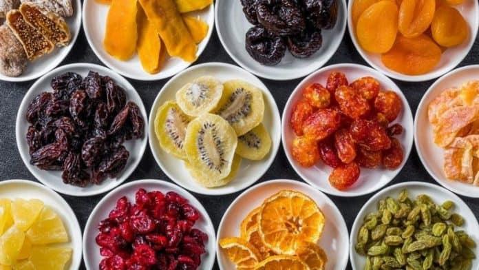 bienfaits des fruits secs