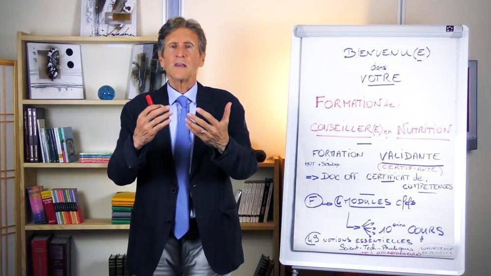 Dr Yann Rougier propose une formation nutrition certifiante (Conseiller en nutrition)
