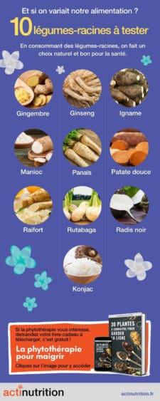 10 légumes racines à consommer plus souvent