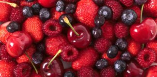 liste des fruits rouges