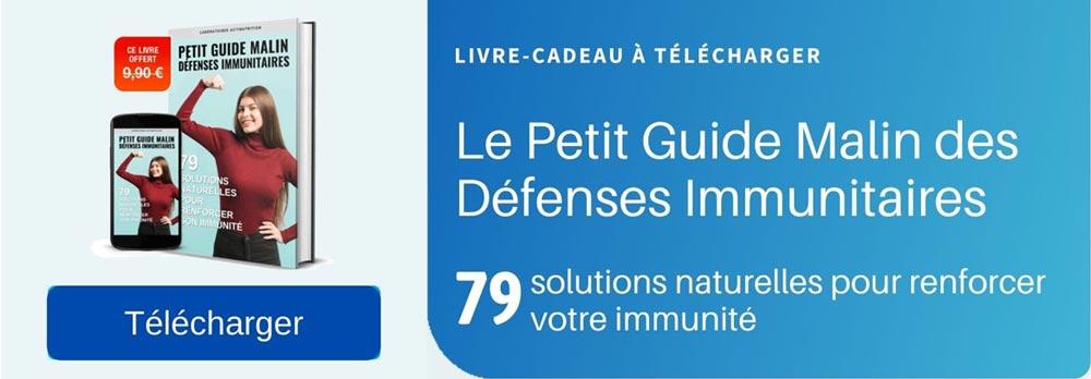 publicité Ebook Immunité