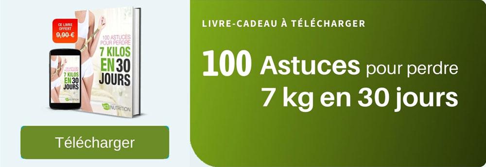 Ebook 100 astuces pour perdre 7 kilos en 30 jours